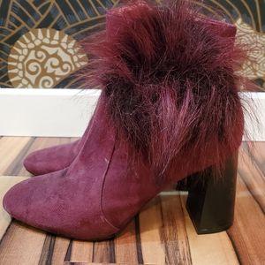cape robbin block heel booties